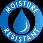 Moisture resistant paperboard