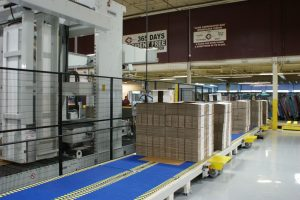 Acme's fully automated finishing line